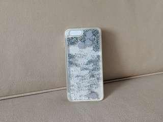 🚚 Miniso Silver Sparkle with Seashells iPhone 7 Plus Case