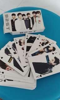 Beast poker card