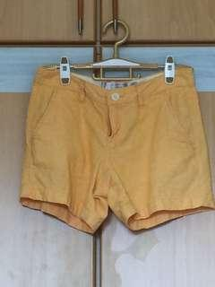 Giordano orange shorts