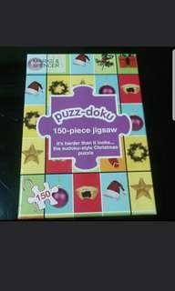 Puzz-Doku Colourful Sudoku Jigsaw Puzzle