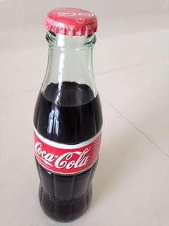 🚚 1990s Italy Coca Cola Green Glass Bottle 200ml Coke