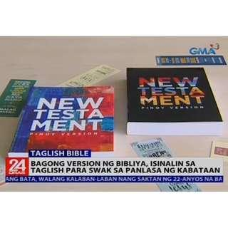Bible New Testament Pinoy Version