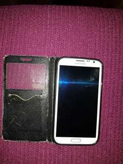 Samsung Galaxy Note 2 White 16GB Original SME set
