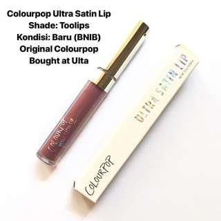 [FREE DELIVERY] Colourpop Ultra Satin Liquid Lipstick Toolips