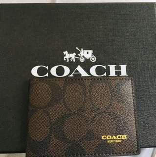 🚚 Coach Card Holder