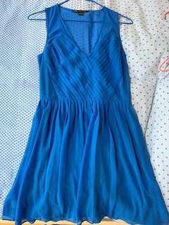 Armani Exchange blue dress US 2