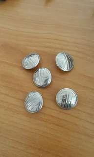 Chung cheng uniform buttons