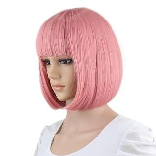 Pink Hair Wig