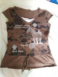🚚 Khaki t shirt