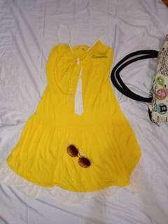 Yellow Summer Dress 👗
