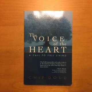 🚚 Self-Help Book: The Voice of the Heart by Chip Dodd