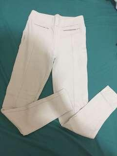 Leggings cream color