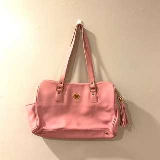 Authentic Paco Rabanne pink shoulder bag