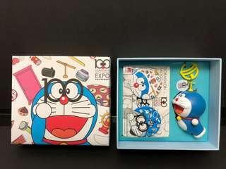 叮噹 Doraemon 多啦A夢 誕生前100周年紀念扣套裝