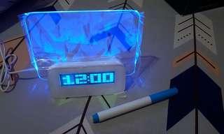 Jam Led bisa tulis note