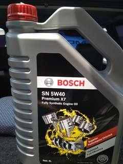 Engine Oil Bosch fully synthetic 4liter
