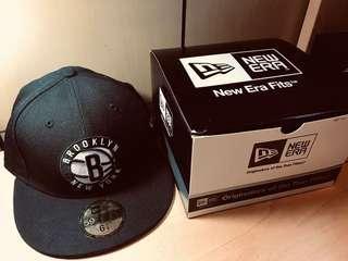 NBA New Era 59 FIFTY帽子 Brooklyn 布魯克林隊
