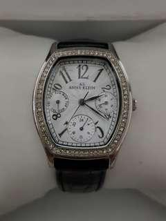🚚 Anne Klein watch for ladies with leather strap