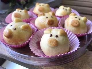 🚚 Piggy Pineapple Tarts