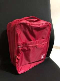 28c07231546 Brand New Red travel toiletries cosmetics shoe accessory sports bag carrier