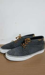 Vans Chukka del Barco Gray/White/Brown Size 12 US