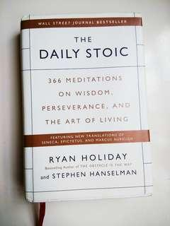 The Daily Stoic (HARDCOVER) RM35
