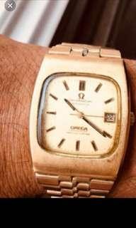 Vintage Omega automotive watch