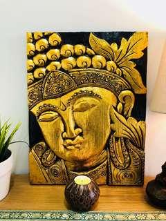 Buddha wall panel
