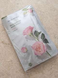 🚚 Nature Republic Real Nature Mask Sheet (Rose)