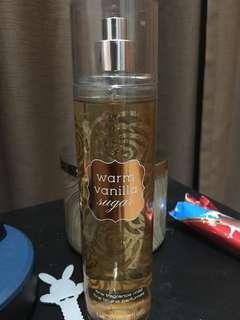 Warm vanilla sugar fragrance mist bath n body works