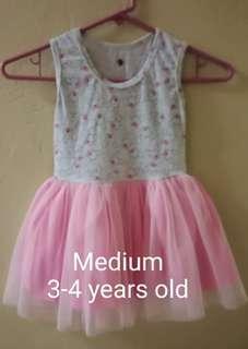 Tutu Dress Medium 3 to 4 years old
