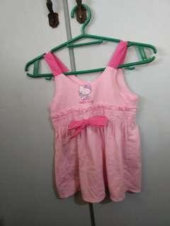 Repriced Pink Hello Kitty Dress