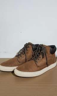 H&M Faux Leather Sneaker Boot Size 10.5 US