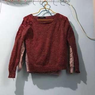 Sweater 紅色 冷衫 red