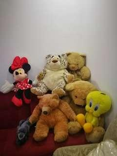 Teddy bear and friends