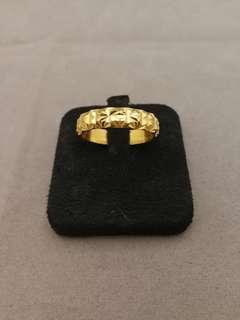 🚚 黃金戒指 gold ring