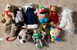 Toys at 100 each..take all 1k free SF