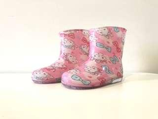 🚚 Hello Kitty Rain Boots 13cm from Japan