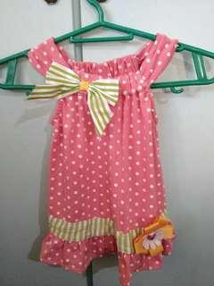 REPRICED Polka dot Terno