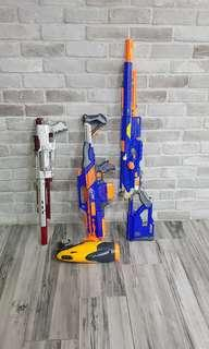 used nerf gun for sale. rapid long strike and etc