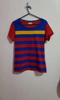 Herbench Multi colored Stripes Shirt