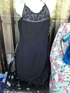 Semi formal dress black