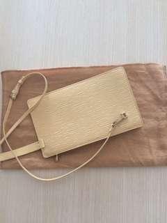 Louis Vuitton Epi Leather Rochelle Bum Yellow Crossbody Bag