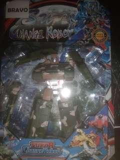 Super change Robot