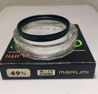 MARUMI 49mm MC-L370 Dynamic UV Filter, Original Made in Japan