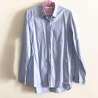 Rope Blue Formal Shirt/Blouse