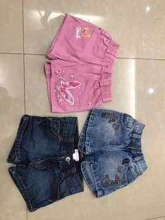 Sexy shorts for your toddler