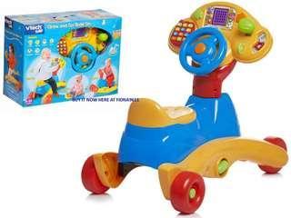 Vtech multicolor 3 in 1 smart wheel toy