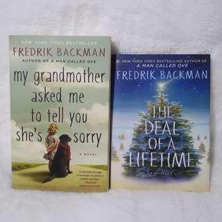 Fredrik Backman Books