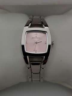 🚚 Authentic Anne Klein watch for ladies with stainless steel bracelet